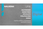 Tarptautiniai LiMA DIGITAL kursai