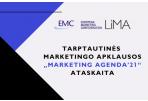 """Tarptautinės marketingo apklausos """"MARKETING AGENDA'21"""" ataskaita"""