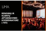 LiMA renginių ir klientų aptarnavimo koordinatorius (-ė)